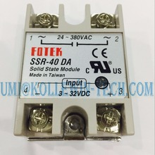SSR-40 DA Solid State Relay, New DC to AC Solid State Relay