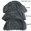 1 Piece Black FreeTress Braided Cap For Crochet Synthetic Braiding Wigs and Weave with 3 different size for your choice
