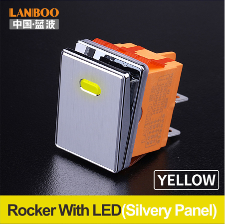 Yellow(Silvery Panel
