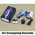 Специальный лазер задний противотуманный фонарь / для Ssangyong Korando 2010 ~ 2015 / стайлинга автомобилей супер-водонепроницаемый авто хвост столкновение - сигнальные лампы