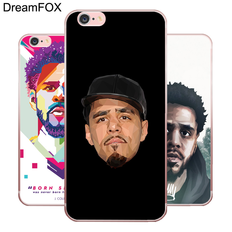 DREAMFOX M339 J Cole Soft TPU Silicone  Case Cover For Apple iPhone X XR XS Max 8 7 6 6S Plus 5 5S SE 5C 4 4S