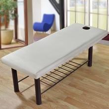 Массажная круглая простыня, простыня из твердого полиэстера с эластичным покрытием, простыня с отверстием для передней части, постельные принадлежности, артикул для салонного дивана
