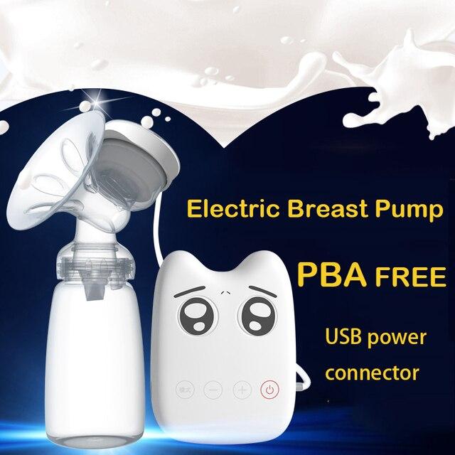 Молокоотсосы DIY Интеллектуальный USB электрические детские BPA БЕСПЛАТНО Послеродовой Грудного вскармливания Грудного молока присоски Одного молокоотсос