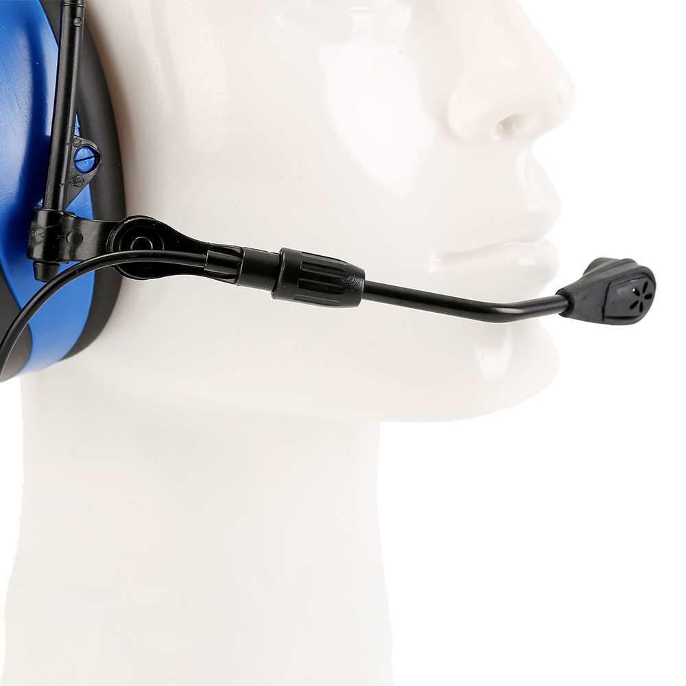 บลูทูธป้องกันการได้ยินปิดหูกันหนาวพร้อมไมโครโฟนอิเล็กทรอนิกส์ลดเสียงรบกวนยุทธวิธีป้องกันหูAM/FMวิทยุหูM Uffs