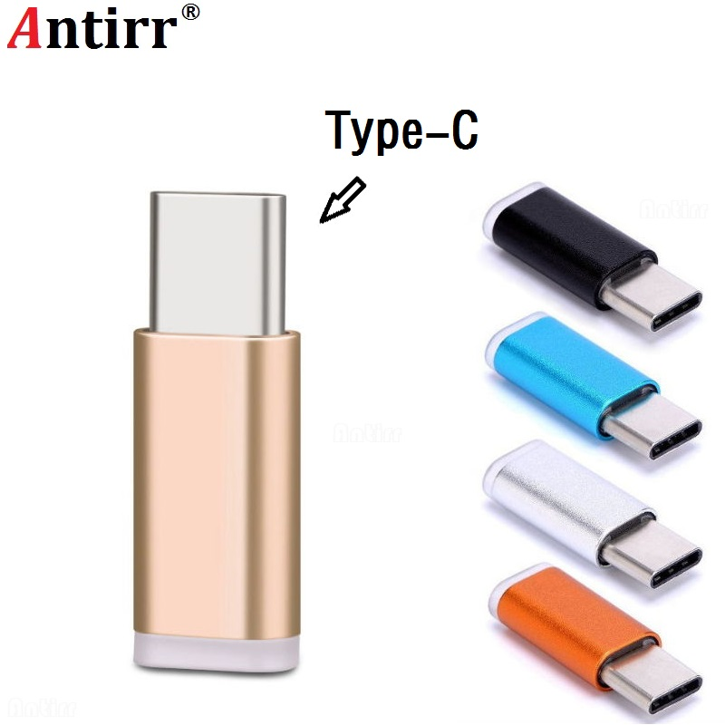 USB 3.1 Type C OTG Adapter Micro USB To Type C Male Adapter For Samsung S9 Note 8/S8+/ LG G5 G6 V20 Huawei