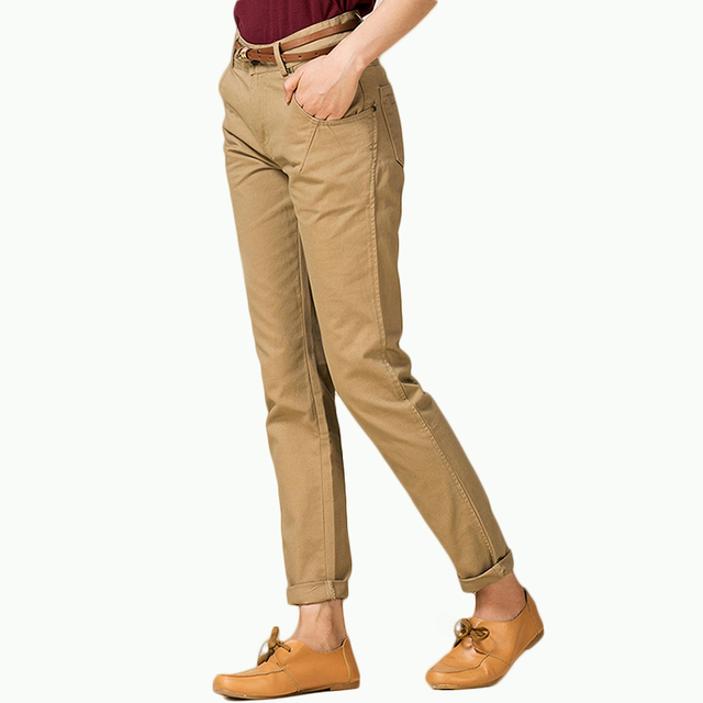 069c32c6954 Khaki pants for womens black womens work pants plus size chino pants for  girls women s work