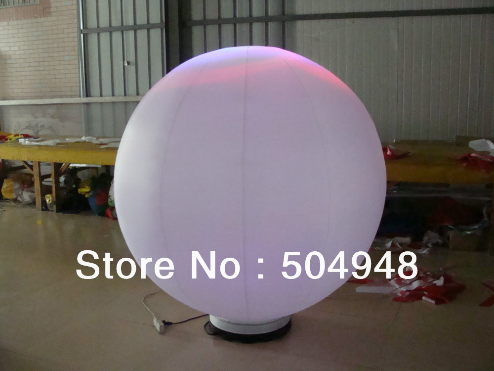 Decoration Inflatable Balloon With LED Light inflatable blue tropical clown fish balloon decoration