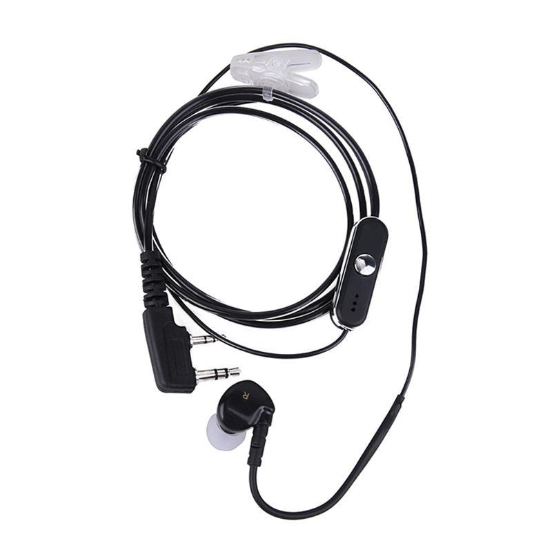 BaoFeng  Ear Hook Earpiece 2 Pin PTT with Mic Headset for UV-5R Walkie Talkie