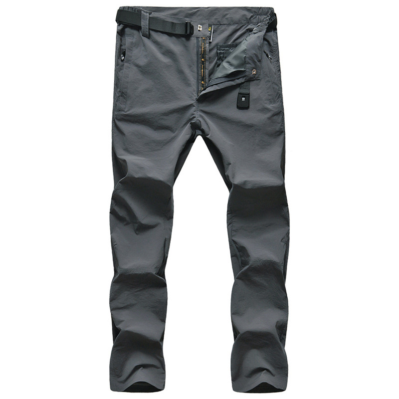 Summer Outdoor Quick-drying Pants Windproof Breathable Hiking Trousers Outdoor Sports Elastic Camping Trekking Fishing Pants