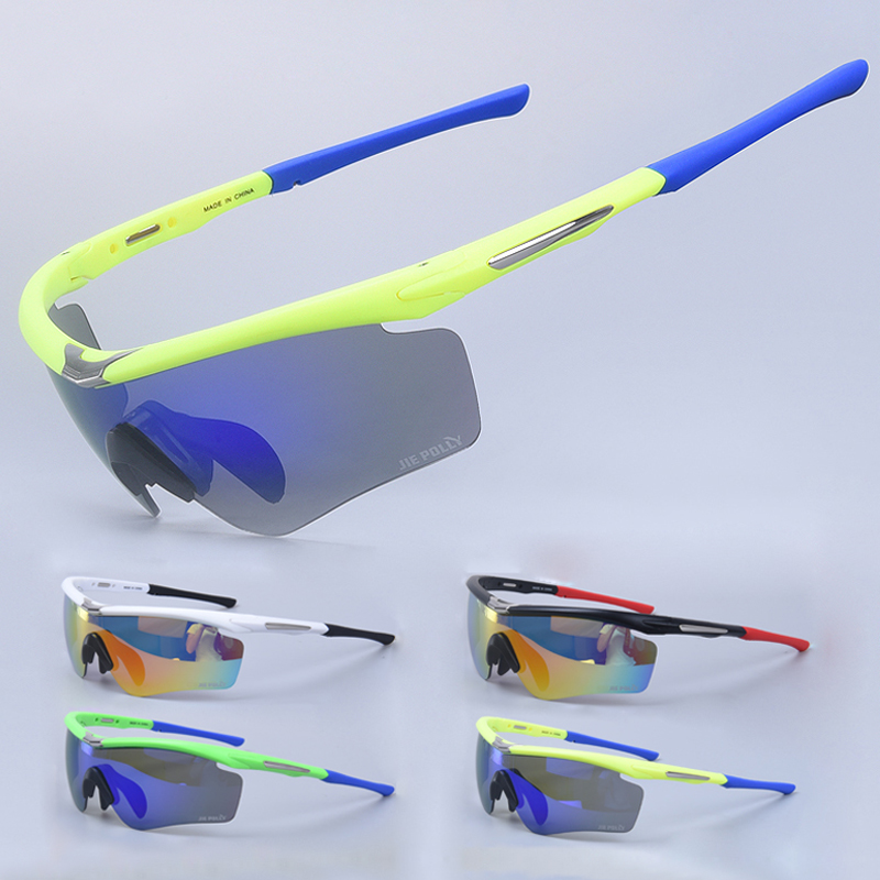 2016 New Brand Outdoor Sports Polarized Sunglasses Sport Glasses for Climbing Running Fishing Golf Eyewear 100% UV400