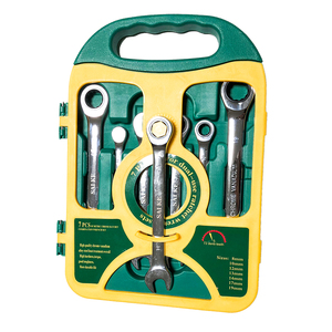 Image 5 - Jeu de clés à cliquet, outils manuels pour les réparations automobiles, jeu de clés à cliquet, outils de couple, 8 19mm