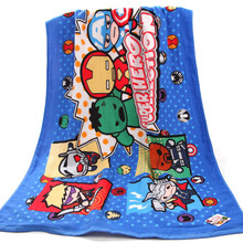 Disney MARVEL hero collection gauze bath towel cotton adult cartoon super soft water-absorbing quick-drying 70x140cm