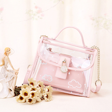 jelly bag beach mini clear crossbody bags for women pink quilted chain luxury channels handbags designer high quality