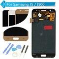 Para samsung galaxy j5 j500 ouro azul lcd screen display toque digitador assembléia + ferramentas frete grátis