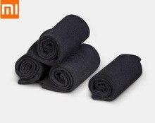 Youpin calcetines finos de algodón con grapa larga para hombre y mujer, calcetines ligeros, transpirables, deportivos, antibacterias, 365