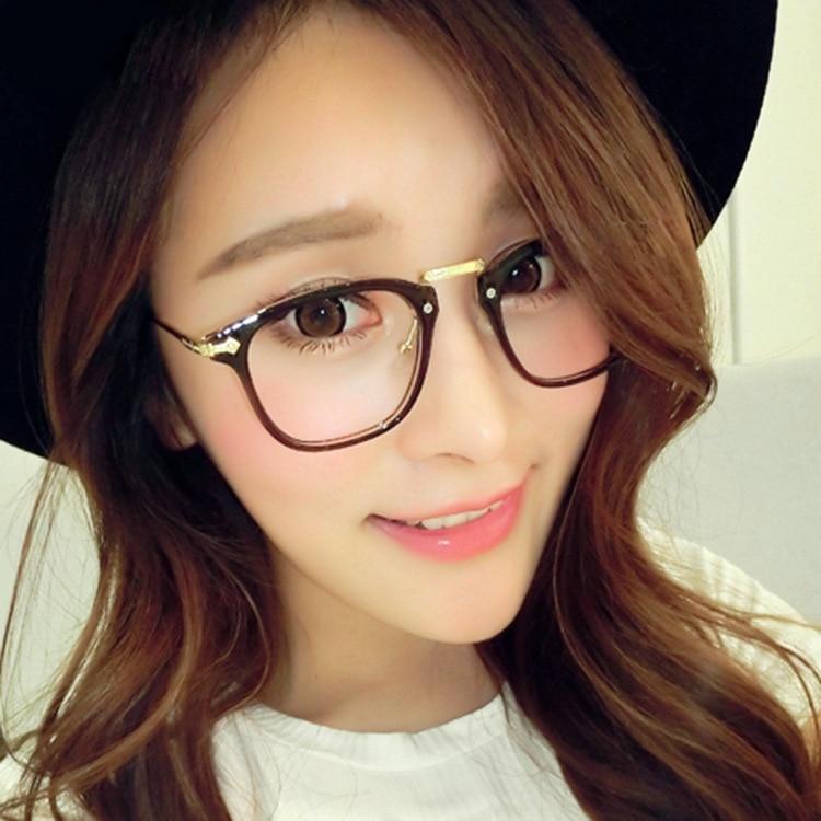 aliexpresscom buy 2015 new style metal glasses frame for women retro korean tide fix face prescription glasses from reliable glasses frames wholesale