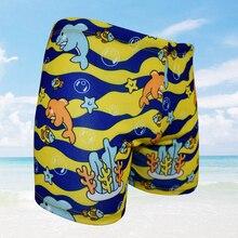 15 to 32 kg swimming trunks for baby kids child boys Cartoon boy swim shorts tights children toddler swimwear