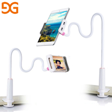 GUSGU Phone Holder For iPhone 6 6s Plus Universal Tablet Stents For iPhone X 8 Flexible Holder For iPad Stand With Clip Bracket