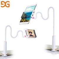 Gusgu suporte do telefone para iphone 6 6s plus universal tablet stents para iphone x 8 suporte flexível para ipad suporte com clipe