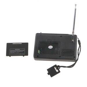 Image 4 - דיגיטלי כוונון LCD מקלט TF MP3 REC נגן נייד AM FM SW מלא להקת רדיו