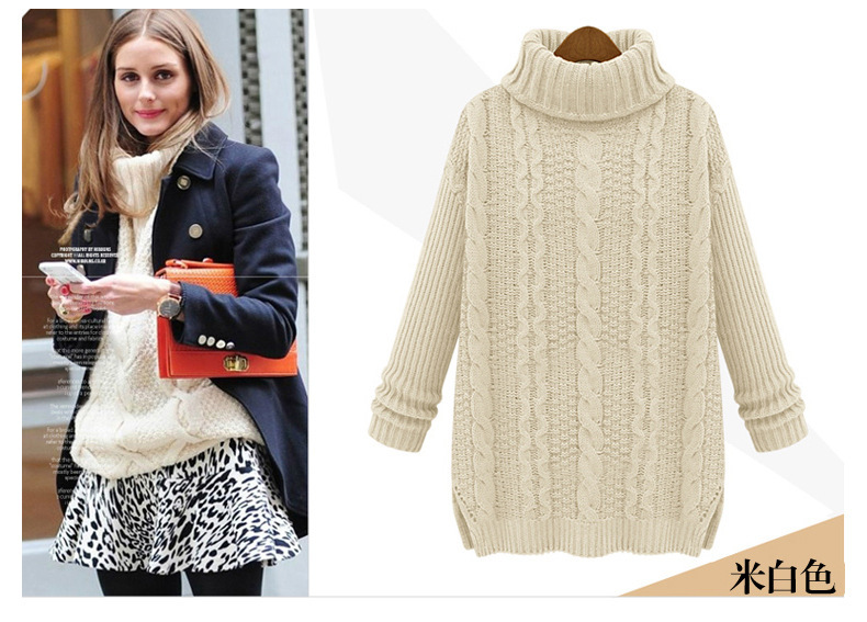 new 2016 Fashion warm winter pullover women sweater women Vintage ...