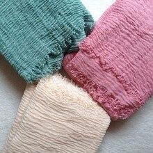 Высококачественный мягкий хлопковый хиджаб складчатый шарф длинный размер мусульманская шаль обертывания можно выбрать цвет Горячая Распродажа Пузырьковые плиссированные шарфы