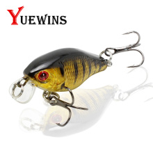 Купить с кэшбэком  YUEWINS Minnow Fishing Lure 45mm 4.4g Crankbait Hard Bait Topwater artificial Wobblers Bass Carp lures Fishing tackle TP304