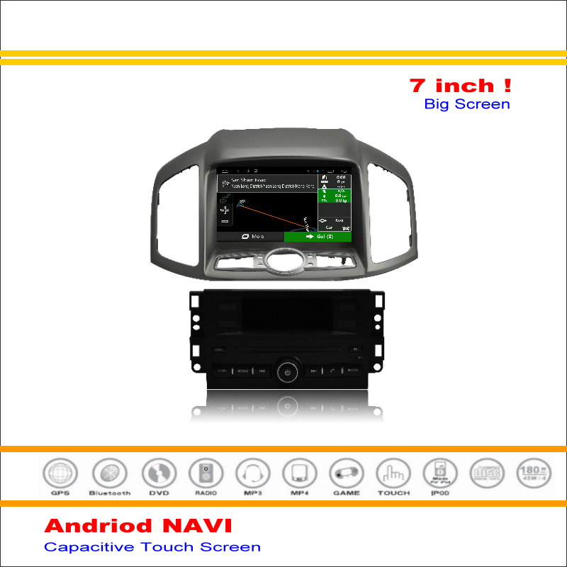 Android Sistema de Navegación GPS Navi del coche Para Chevrolet Captiva 2011 ~ 2