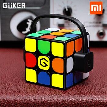 2019 更新されたバージョンオリジナルホット Xiaomi Giiker スーパールービックキューブ I3S スマートマジック磁気 Bluetooth APP 同期パズルおもちゃキューブ