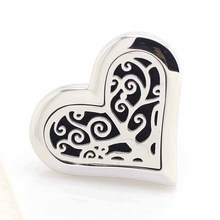 Heart Tree Car Aromatherapy Perfume Locket Stainless Steel Essential Oil Car Diffuser Lockets 5pcs advu 50 20 a p a 156638 germany festo cylinders