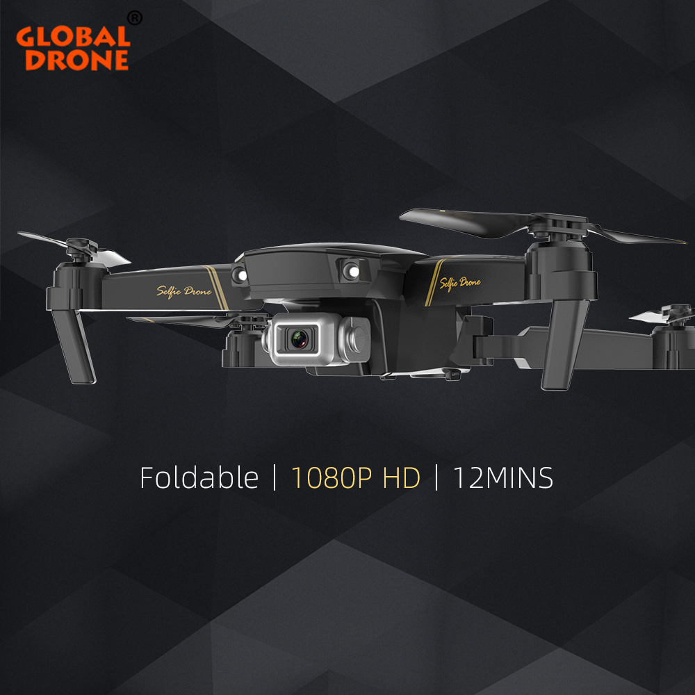 Global Drone EXA Profissional Drones With Camera HD 1080P Altitude Hold FPV RC Helicopter Mini Drone X Pro Quadrocopter Dron