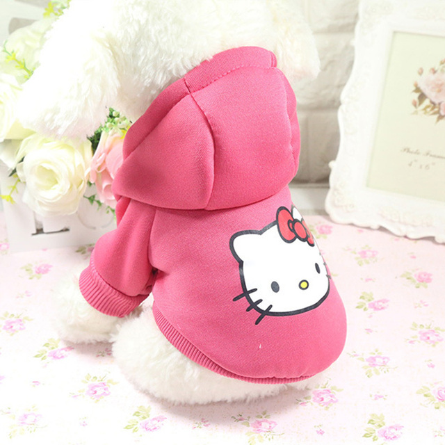 Cartoon Dog Hoodie Pet Dog Clothes For Dogs Coat Jacket Cotton Ropa Perro  French Bulldog Clothing For Dogs Pets Clothing Pug 4