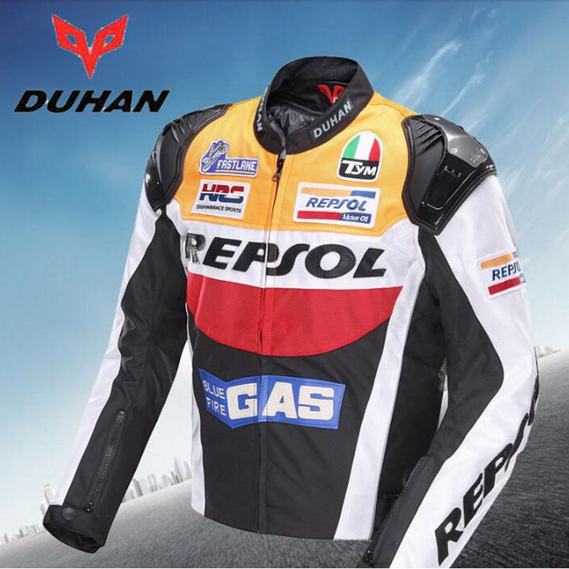 2017 sunner new mesh riding tribe cross country motorcycle jacket jk 37 motorbike jackets made of oxford cloth size m xxxxl 2017 Autumn Winter DUHAN REPSOL motorcycle riding jacket man motorbike jackets personality sports motor clothes of 600D oxford