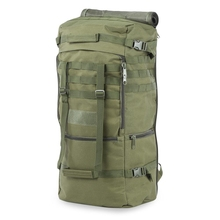 Outdoor Men Women Military Bag for Climbing Camping Hiking Oxford Fabric Hunting Backpack Water Resistant Tactical