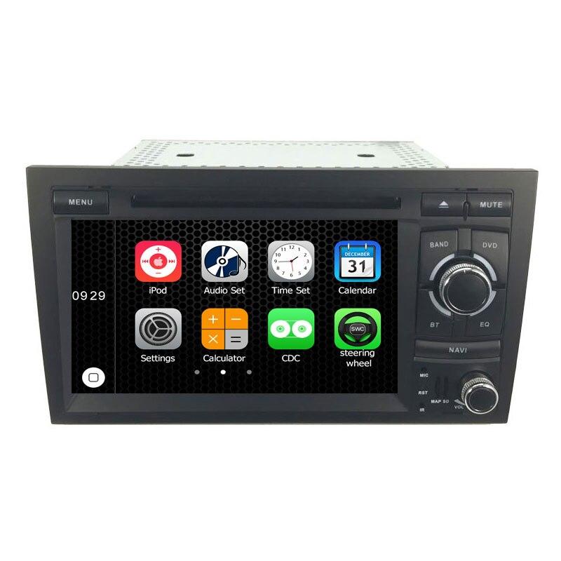 7 ''Touchscreen Spezielle Autoradio autoradio Dvd Für Audi A4 S4 RS4 2002-2008 Mit Sat Gps-navigationssystem Stereo Head Unit