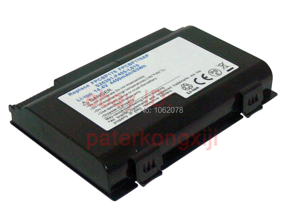 Battery for Fujitsu LifeBook A1220 A6210 A6220 A6230 AH550 E780 E8410 N7010  FPCBP176 FPCBP176AP FPCBP233 FPCBP233AP FPCBP251 аккумулятор для ноутбука for fujitsu fujitsu lifebook nh751 fpcbp275 fpcbp276 fmvnbp196 fmvnbp197 5200mah