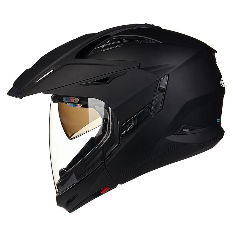 ZEUS Full Open Face Motorcycle helmet Modular Moto 613B2 Capacetes Motociclismo Cascos Para Moto Casque Motocross