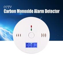 YiiSPO 85dB Warning High Sensitive LCD Photoelectric Independent CO Gas Sensor Carbon Monoxide Poisoning Alarm Detector
