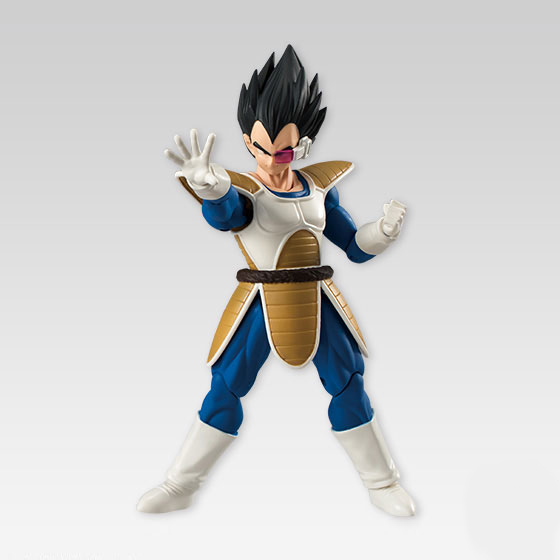 Japan Anime Dragon Ball Z Original BANDAI Tamashii Nations SHODO SHOKUGAN Vol.4 Action Figure - Vegeta (9cm tall) ...