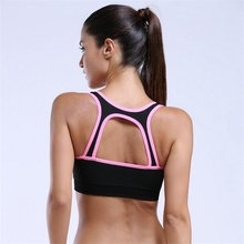 MADHERO Women's Sports Bra Fitness Top Push-up Crop Tops Running Brassiere Gym Exercise Yoga Bras Sujetador Deportivo For Female