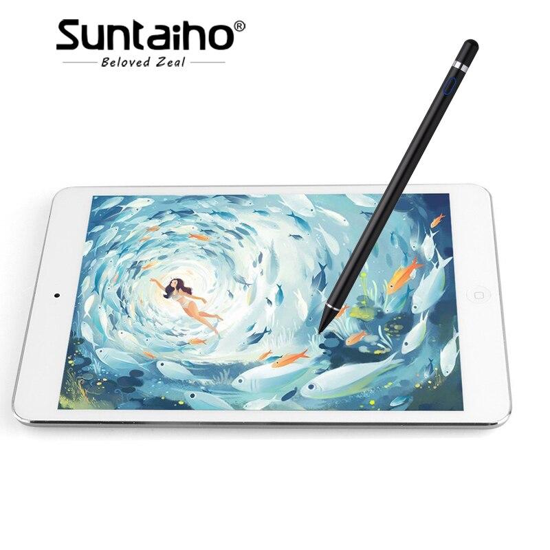 Stylet Pour Apple Crayon, Pour ipad stylo, Pour Xiaomi mi pad/2/3 Samsung Tab/Amazon Kindle Fire/Microsoft Surface/Asus Zenpad