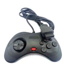 เกมคอนโทรลเลอร์สำหรับ Sega saturn SS สีดำ