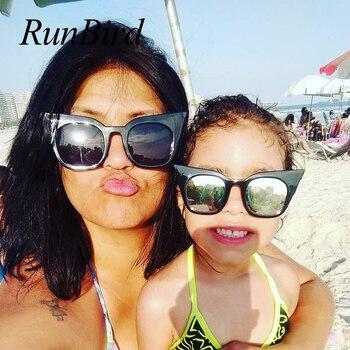 Cat Eye Sunglasses Kids and Women 2018 C...