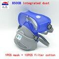 Обеспечивает один тип респиратор Пылезащитная Маска Анти-противотуманные линзы силиконовая маска респиратор для тела против пыли PM2.5 маск...