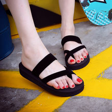 Shoes woman sandals Womens Summer Flip Flops Casual Slippers Flat Sandals Beach Open Toe Shoes zapatos de mujer3.597(China)