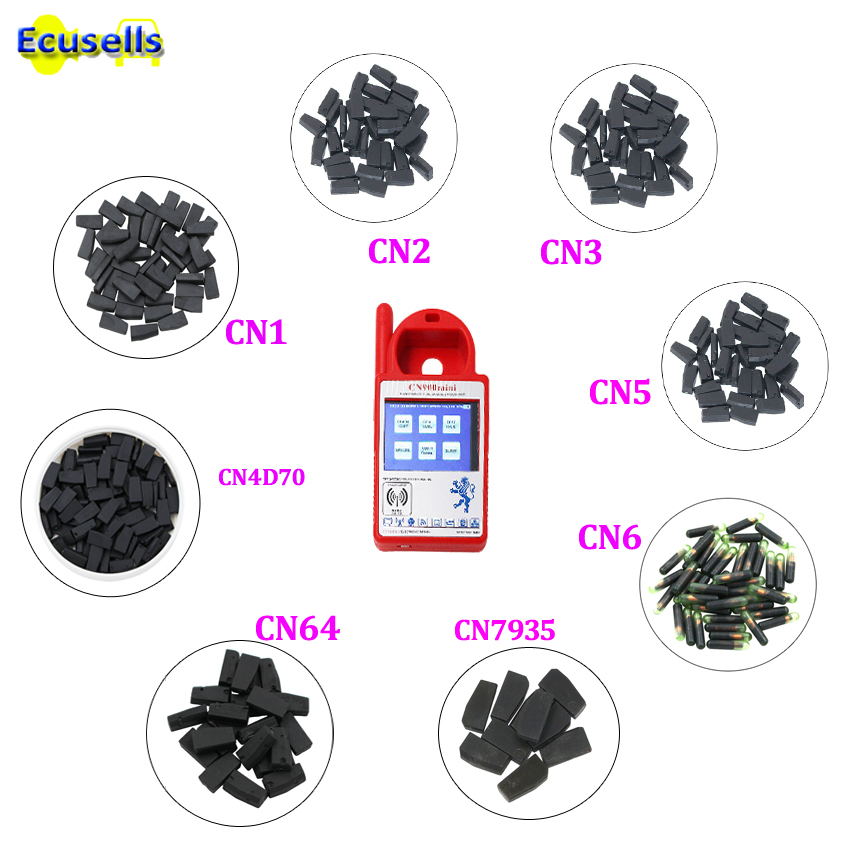 10pcs/lot CN1 CN2 CN3 CN5 CN6 CN7935 CN4D70 80BIT Chip For CN900 CN900MINI ND900 COPY 4C 4D 46 48 7935 G Chip 4D61/62/65/66/67