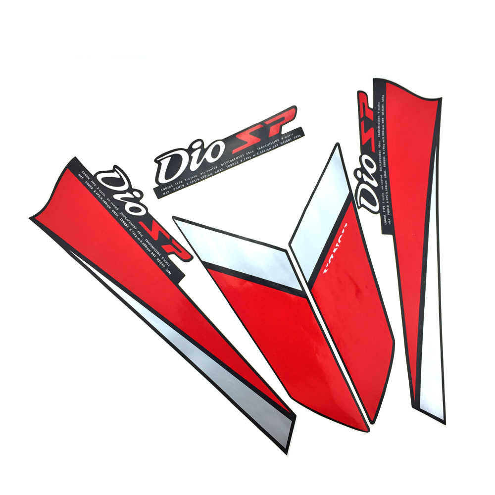Motorcycle stickers decals motorcycle full body sticker motorcycle glue stickers for honda dio af18 af25 logo