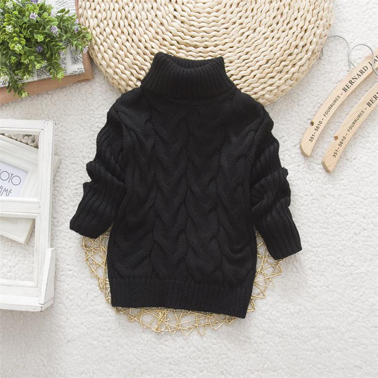 c7fae1329c3b0 2015 Hot Sale Baby Boys Girls Sweater Childrens Kids Unisex Winter Autumn  Pullovers Knitting Turtleneck Warm