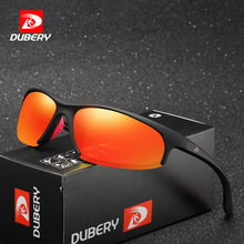 MYT_0147 DUBERY Sport polarized sunglasses with large frame outdoor windproof for men Brand Designer UV400
