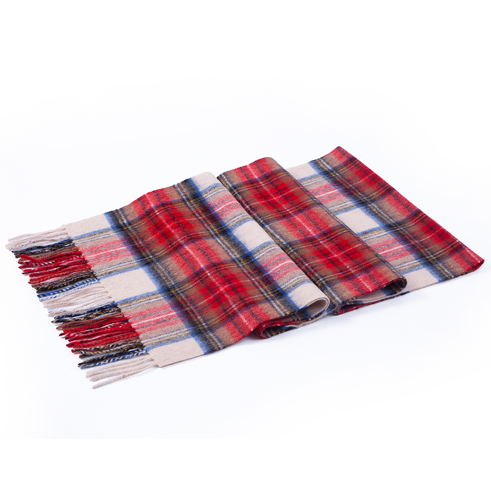 Image 3 - 100% Lamb Scarf Strip Solid Plaid Wool Scarf Luxury Classical Warm Long Soft Cashmere Winter Scarves for Men Winter Accessories-in Men's Scarves from Apparel Accessories on AliExpress